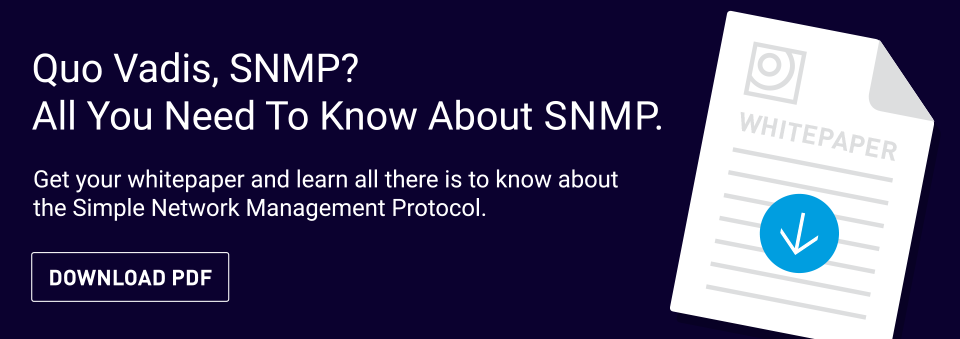 SNMP  A Pillar In IT: What You Must Know About Its Versions and FCAPS