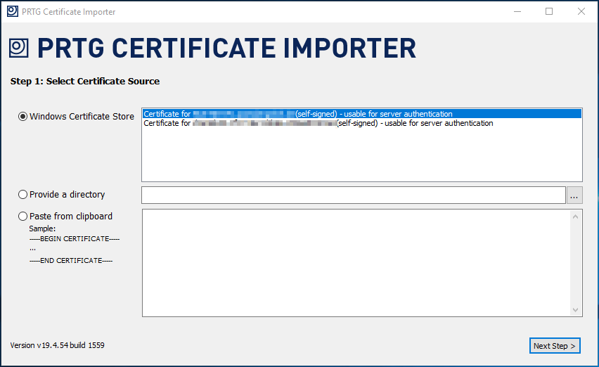 prtg-19454-certificate-importer