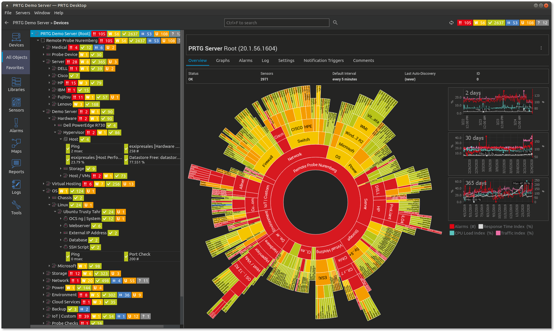 prtg-desktop-for-linux-beta-screenshot-sunburst