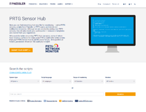 Sensor-Hub-Website-Screenshot-1