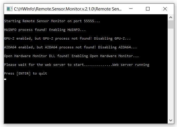 remote-sensor-monitor-cli