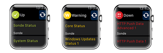 PRTG for Apple Watch Status