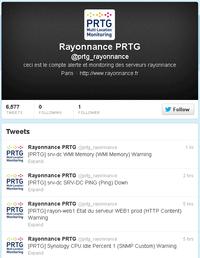 PRTG on Twitter: @prtg_rayonnance