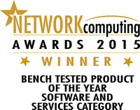 PRTG is Bench Tested Product of the Year