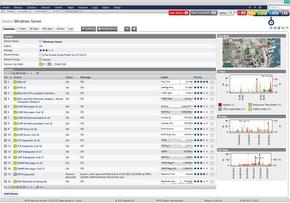 Web Interface of PRTG Network Monitor 12