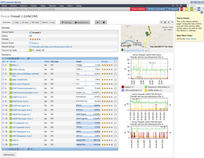 Web Interface of former PRTG Network Monitor 8