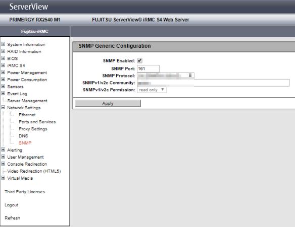 serverview-fujitsu-irmc-snmp
