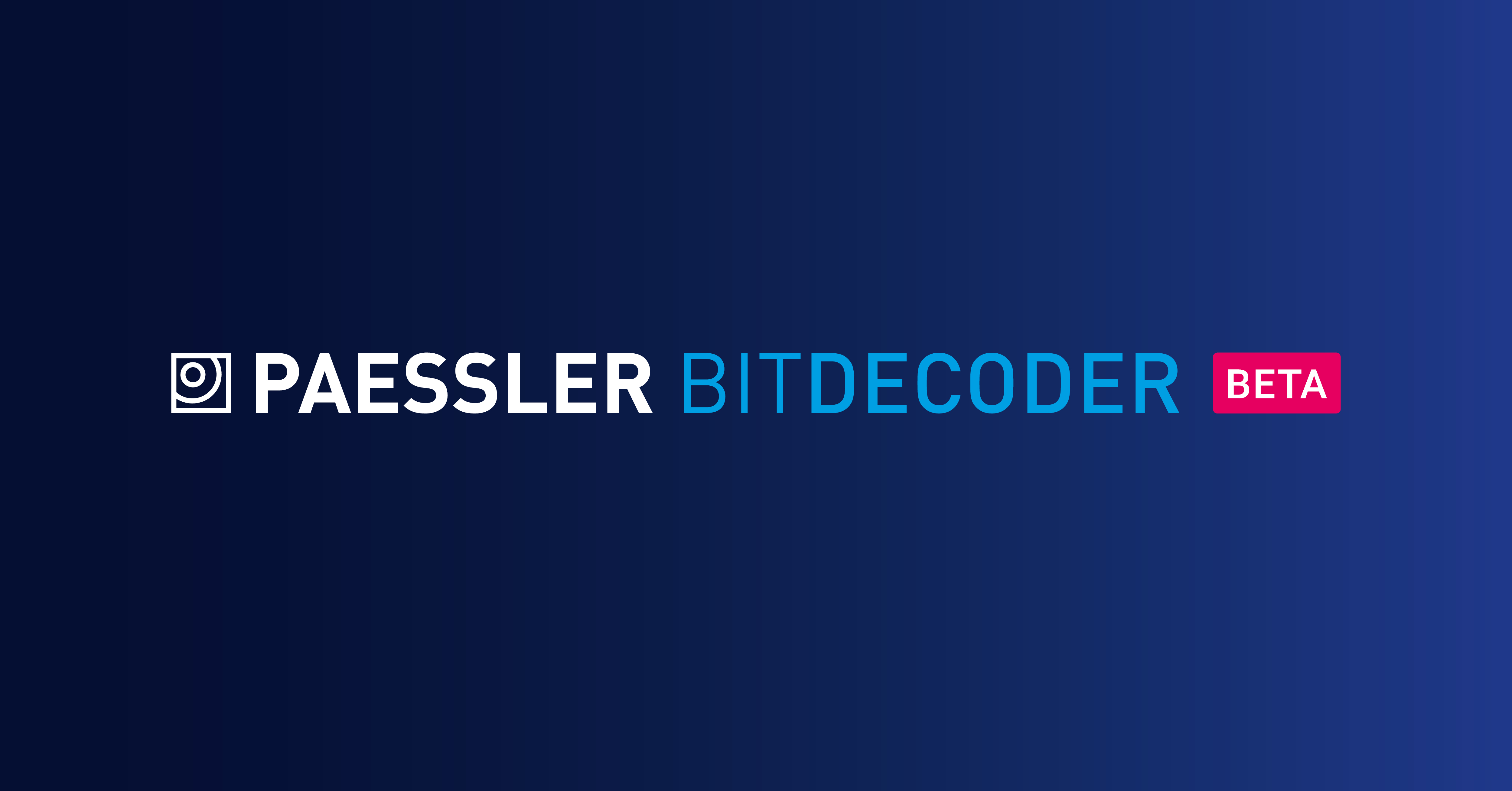 Paessler BitDecoder presented in a keynote at the embedded world 2020