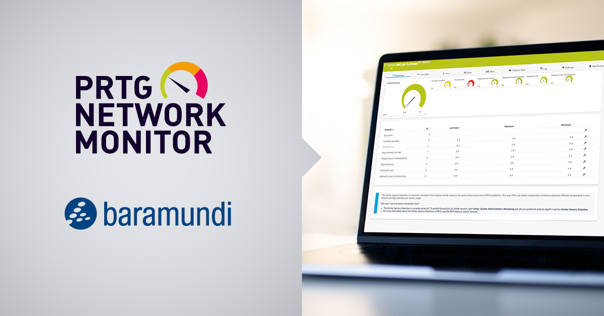 prtg network monitor and baramundi management suite