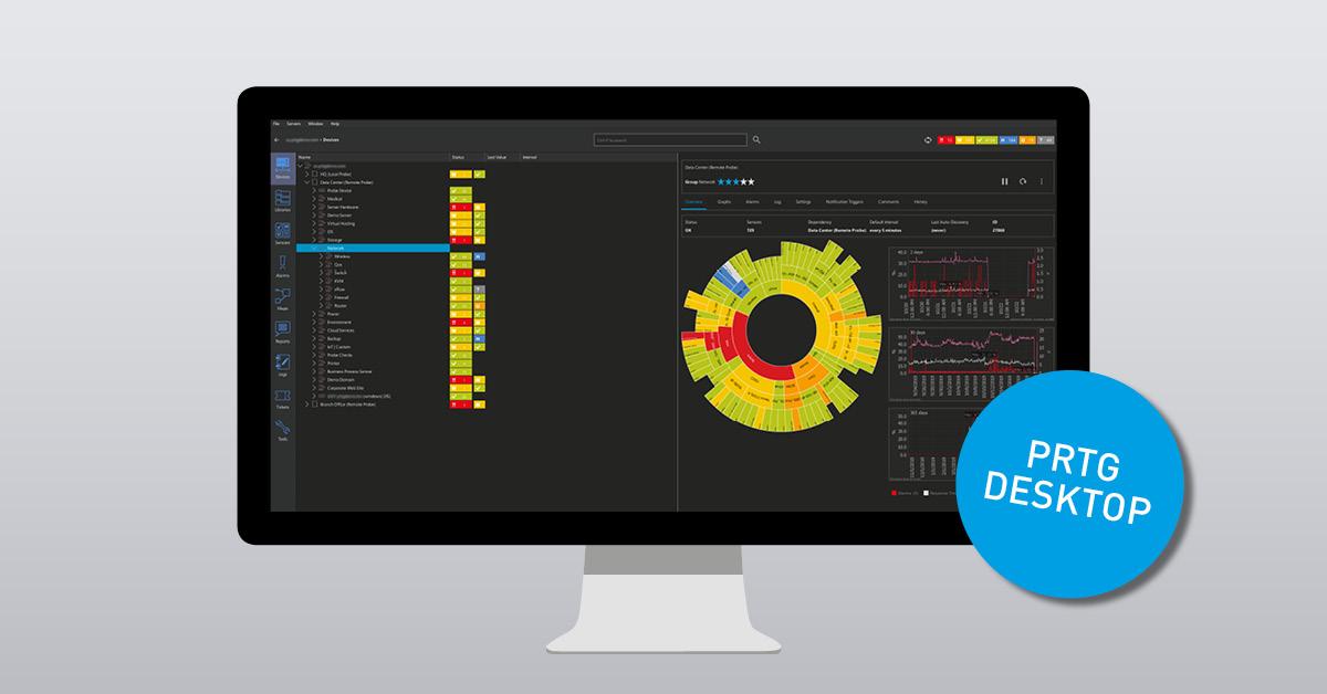 PRTG Enterprise Console EOL – Switch to PRTG Desktop Now