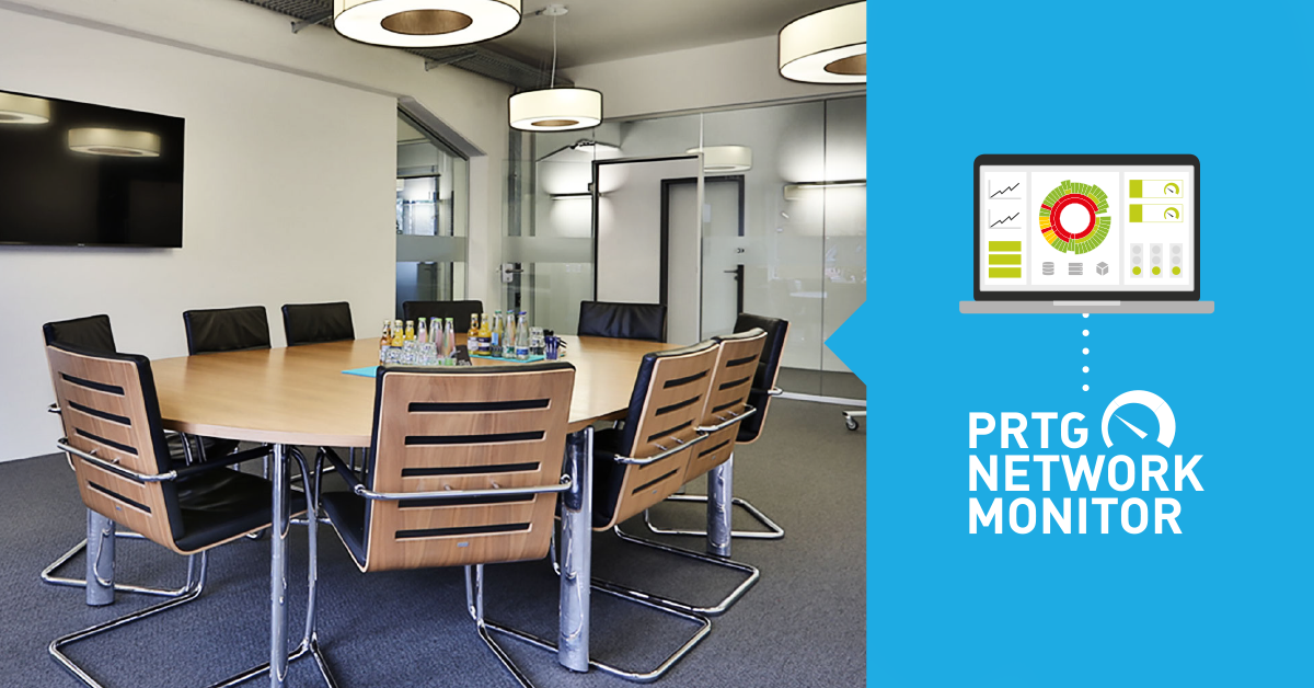how to monitor meeting rooms with prtg