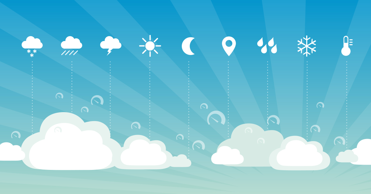 How to keep track of the weather with PRTG