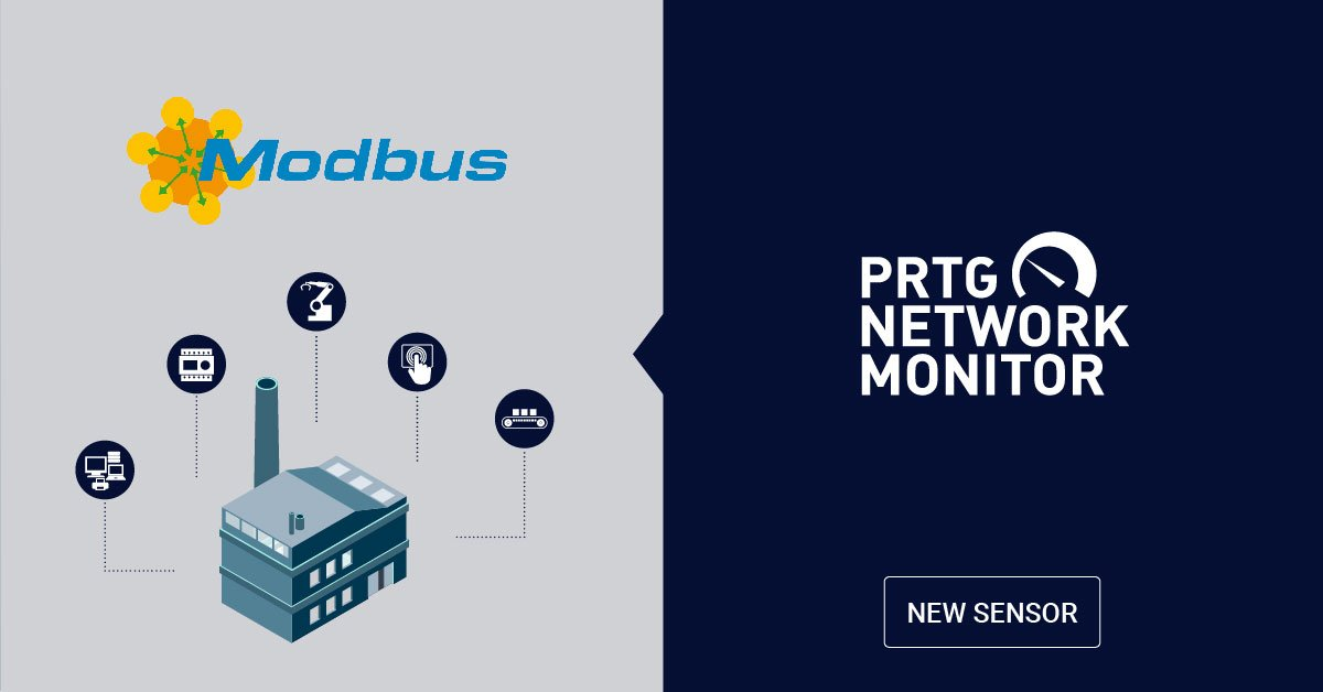 Introducing the new Modbus TCP sensor for PRTG