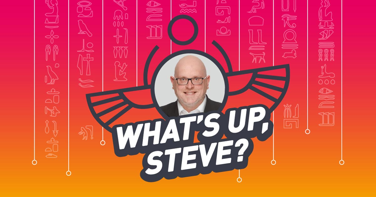 What's up, Steve? – opinions from our CTO about deepfake, Industrial IT, and the coronavirus crisis
